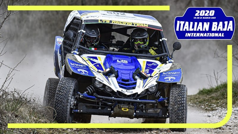 È dolce la polvere dell'Italian Baja International per LTS Racing Team
