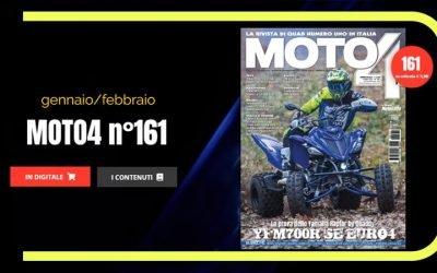 Rassegna stampa: MOTO4 la rivista di Quad numero 1 in Italia